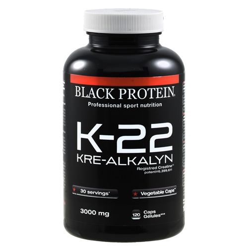 Black Protein K 22 Kre Alkalyn