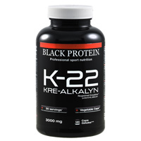 Creatinen - Kre AlKalyn K 22 Kre Alkalyn Black Protein - Fitnessboutique