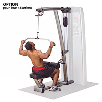 Rug- en onderrugstation Bodysolid Pro Dual OPTION EXTENSION PRO DUAL LAT MID-ROW