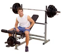 Fitnessbank PowerCenter Combo Bench Bodysolid - Fitnessboutique