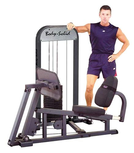 Bodysolid Geleide Leg Press W/210LB Stack