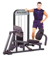 Isolatiestations Bodysolid Geleide Leg Press W/210LB Stack