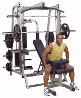 Smith Machine Smith Serie 7 Full Option Bodysolid - Fitnessboutique