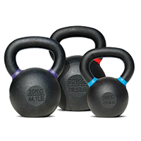 Kettlebells Kettlebell 4 kg Black - Light Green Bodysolid - Fitnessboutique