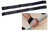 Handschoen en strap Lifting Strap Bodysolid - Fitnessboutique