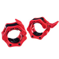 Krachttraining Bodysolid Olympic Lock-Jaw Collar Red