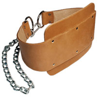 Accessoires krachtsport Bodysolid Leather Dipping Belt