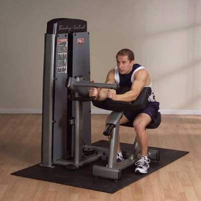 Bodysolid Pro Dual Biceps Triceps Station