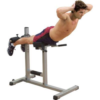 Bodysolid Hyperextension bank