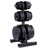 Bodysolid Olympic Weight Tree & BarHolder