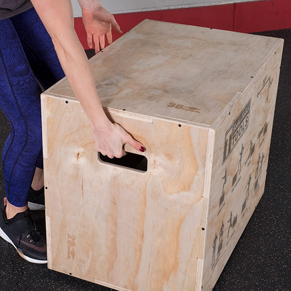 Bodysolid Plyo Box Bois
