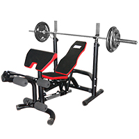 Fitnessbank Fitness Doctor Black Bench