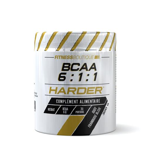 Aminozuren BCAA 6:1:1 Harder - Fitnessboutique