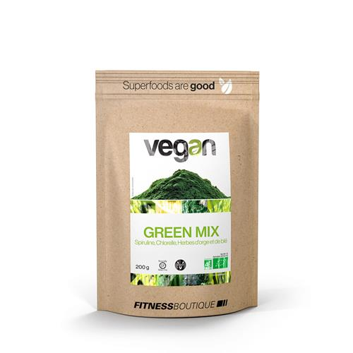 Keuken - Snacking Green Mix BIO Vegan - Fitnessboutique