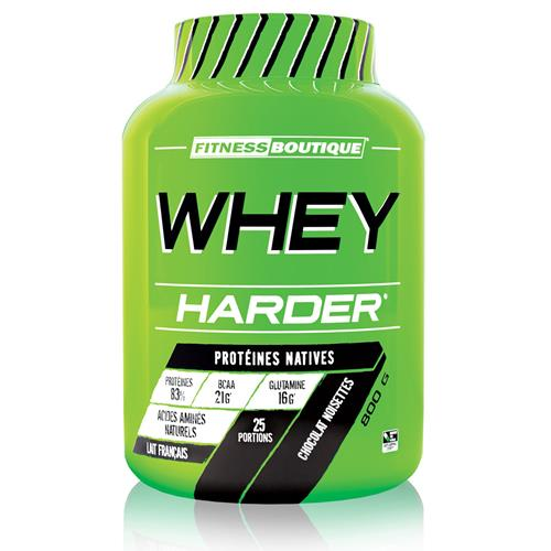 Proteïnen Whey Harder Harder - Fitnessboutique