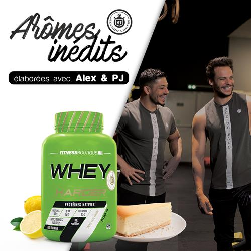 Weiproteïne Harder Whey harder