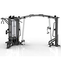 Fitnessapparaat Heubozen Jungle Machine met 5 stations