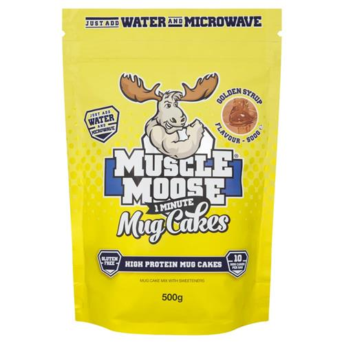 Keuken - Snacking 1 Minute Mug Cakes Muscle Moose - Fitnessboutique