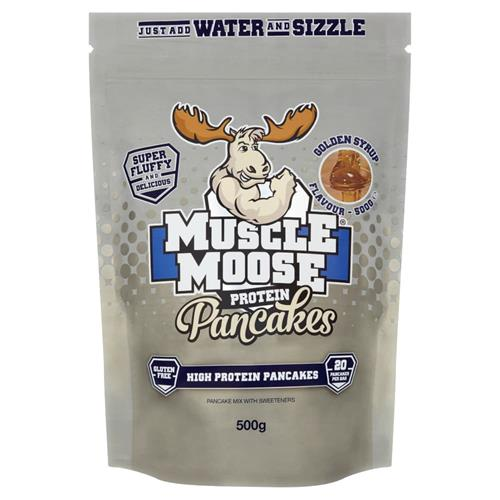 Keuken - Snacking Protein Pancakes Muscle Moose - Fitnessboutique