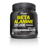 Energiesupplementen Beta Alanine Xplode Olimp Nutrition - Fitnessboutique