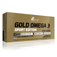 Droog - Definitie - Gold Omega 3 Sport Edition Olimp Nutrition - Fitnessboutique