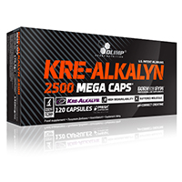 Creatinen - Kre AlKalyn Olimp Nutrition Kre Alkalyn 2500 Mega Caps
