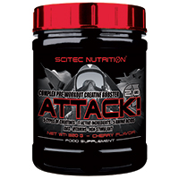 pre-workout Attack 2 Scitec nutrition - Fitnessboutique