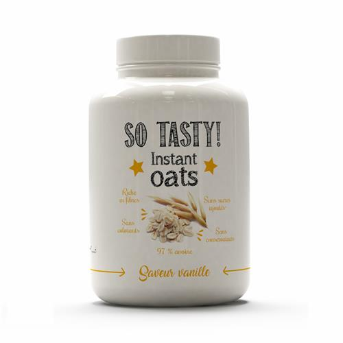 Diëtiek Instant Oats SoTasty - Fitnessboutique