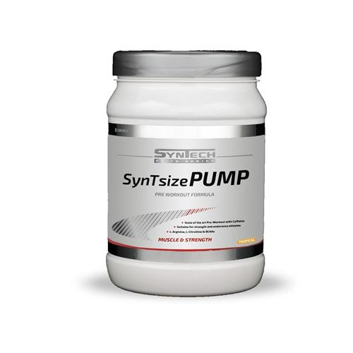 pre-workout SynTsize Pump Syntech - Fitnessboutique