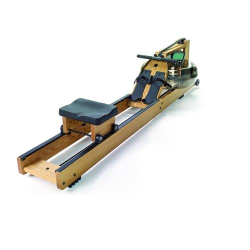 Roeiapparaat Waterrower in eik geconstrueerd met S4-monitor Waterrower - Fitnessboutique