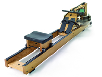 Roeiapparaat Waterrower Waterrower in eik geconstrueerd met S4-monitor
