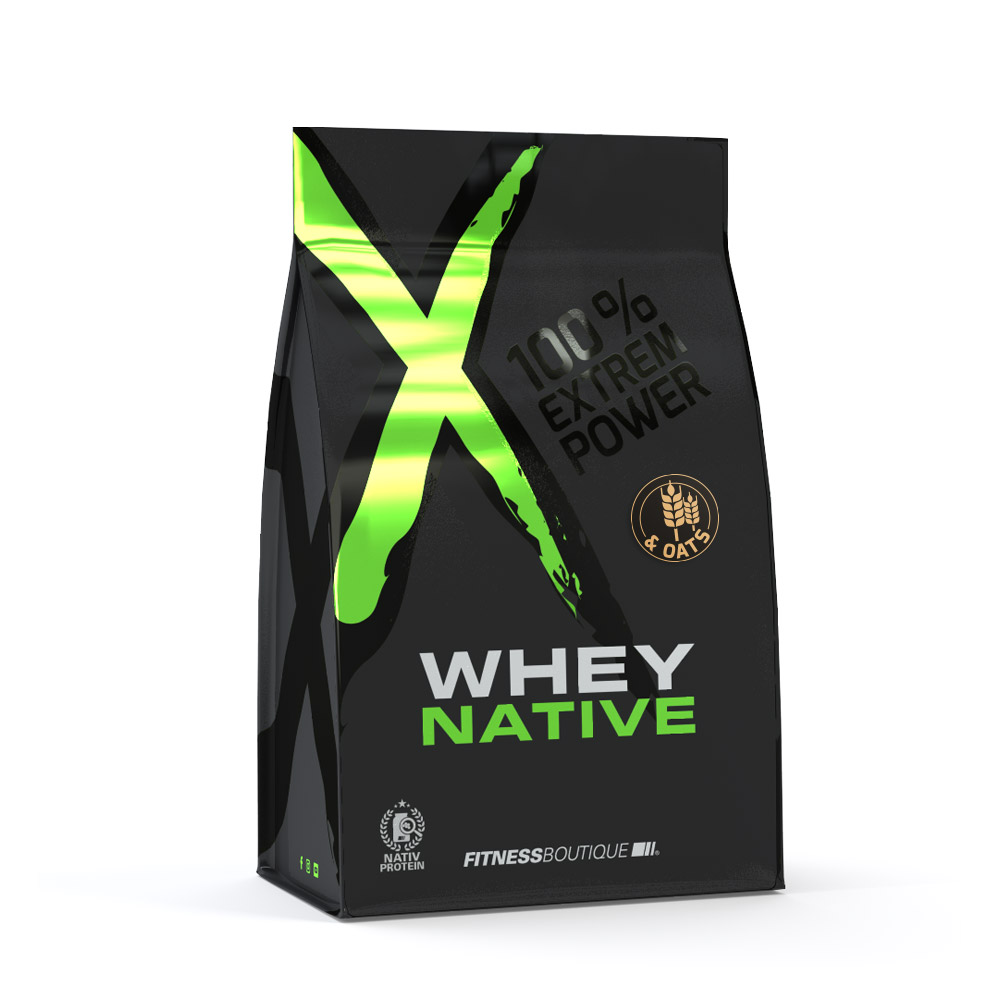 XNative Whey & Oats met Native Whey Proteïne