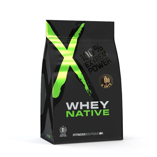 Proteïnen XNative Whey & Oats met Native Whey Proteïne