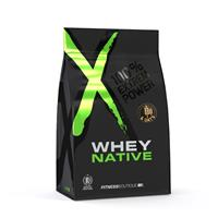 Proteïnen Whey & Oats vanille 900 gram XNative - Fitnessboutique
